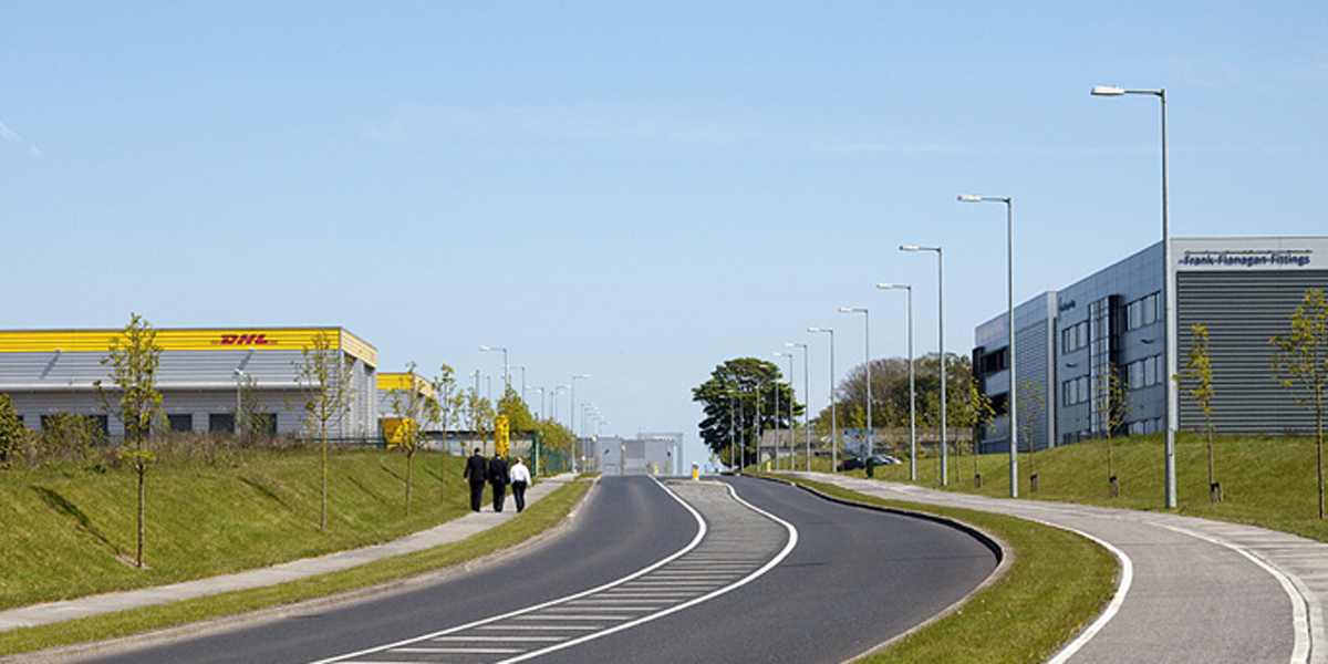 Dublin Airport Logistics Park Entrance