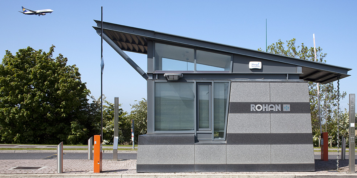 Dublin Airport Logistics Park Entrance booth