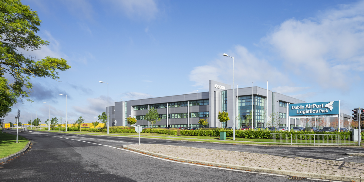 Eason at Dublin Airport Logistics Park Entrance