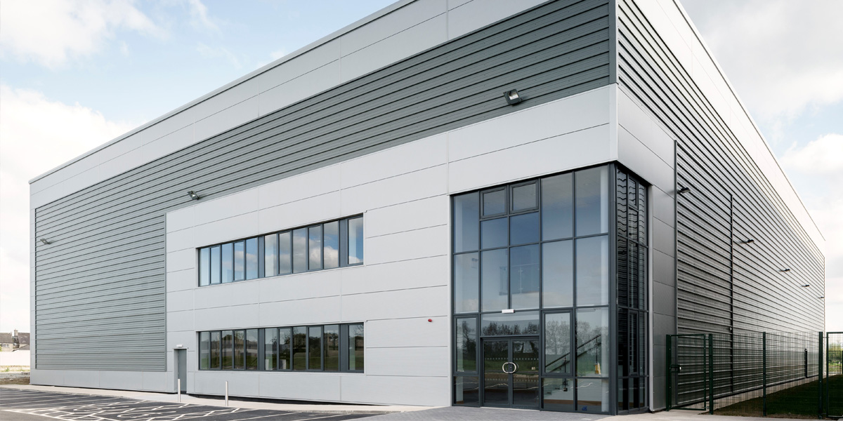 Cardinal House exterior at Dublin AirPort Logistics Park